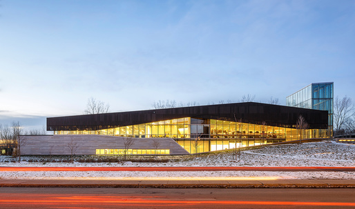 RAIC distinguishes Montreals Bibliothèque du Boisé with 2017 Green Building Award