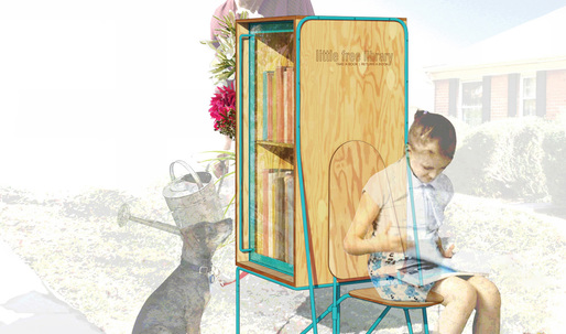 Clark Nexsens Rachel Murdaugh Wins Chronicle Books' Choice Award in the Little Free Library Design Competition