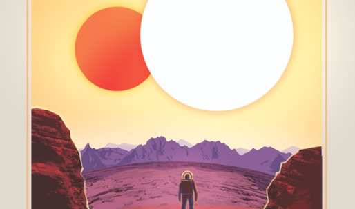 Relax on Kepler-16b: Where Your Shadow Always Has Company