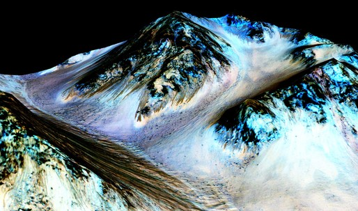 NASA discovers liquid water on Mars