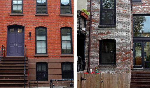 The city's vintage town houses aren't getting any younger.