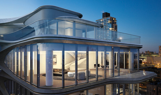 Inside the Zaha Hadid-designed $50 million High Line penthouse
