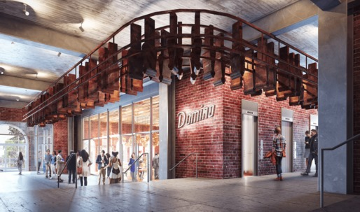 Domino Sugar Factory reveals renderings of creative office building The Refinery