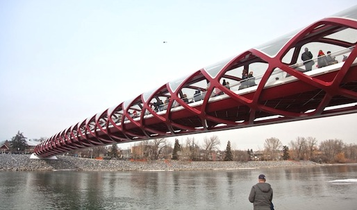 Calatravas Peace Bridge to open tomorrow in Calgary