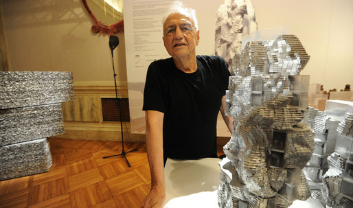 Frank Gehry is the first architect to be awarded the Harvard Arts Medal