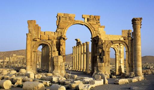 3D printing will recreate destroyed Palmyra arch
