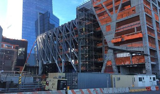 "Construction for Diller Scofidio + Renfro and Rockwell Groups ""The Shed"" pushes forward"