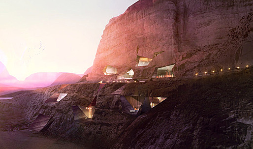 Desert Lodges by Chad Oppenheim in Wadi Rum