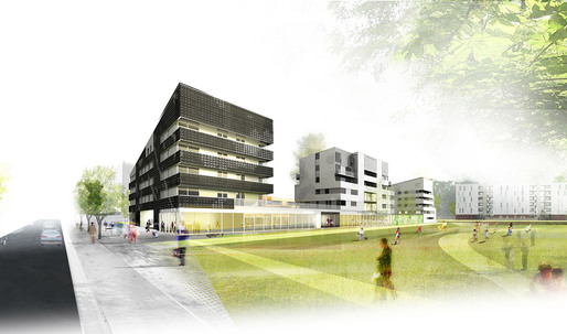 Mateo Arquitectura Starts Construction of Andromède Housing Blocks in Toulouse