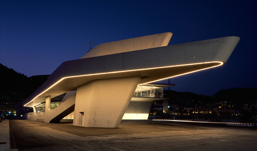 The Salerno maritime terminal: Zaha Hadid's first posthumous project inaugurated in Italy