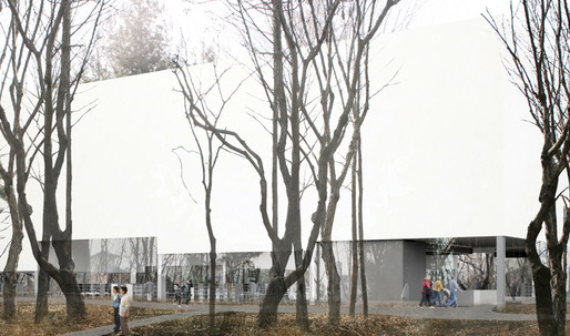 Daegu Gosan Public Library - 1st Place Entry by Gorka Blas