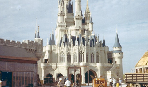 Fascinating photos of Disney's Magic Kingdom under construction