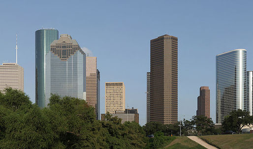 Does Houston's architecture lack poetry?
