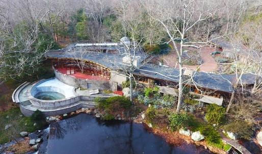 Frank Lloyd Wright's 'Tirranna' home in New Canaan, CT for sale