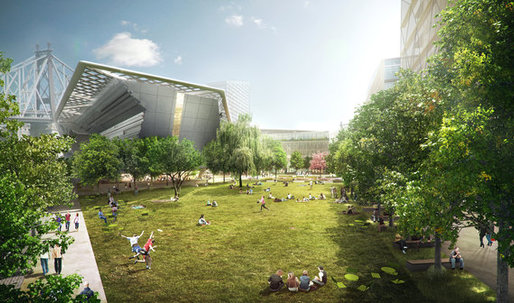 Cornell Unveils New NYC Tech Campus by SOM and Morphosis