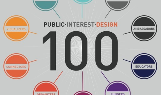 Public Interest Design 100 honors people for their commitment to dignifying design for all