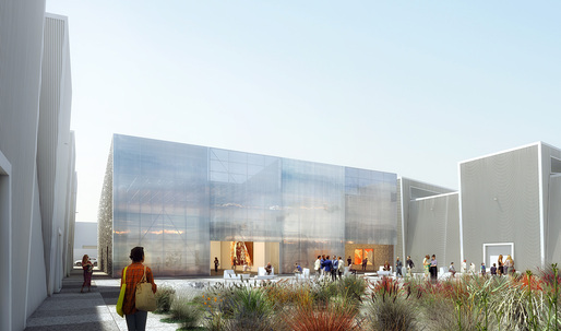 OMA releases renderings of event + project space in Dubai