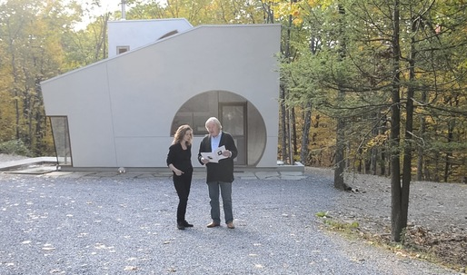 "Watch ""Ex of IN House,"" an unusual, compelling new video from Steven Holl"