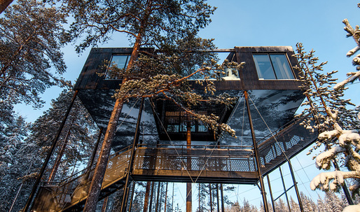 "Is Snøhetta's ""7th room"" 2017's coolest (literally and figuratively) treehouse?"