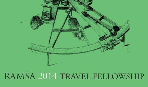 2014 RAMSA Travel Fellowship awarded to McGill University grad student