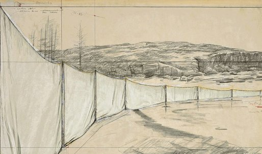 Want Christo to make a US/Mexico border wall? Sign the petition!