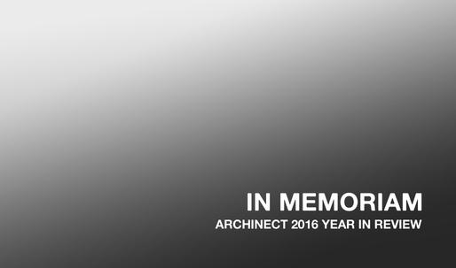 In Memoriam: those we lost in 2016