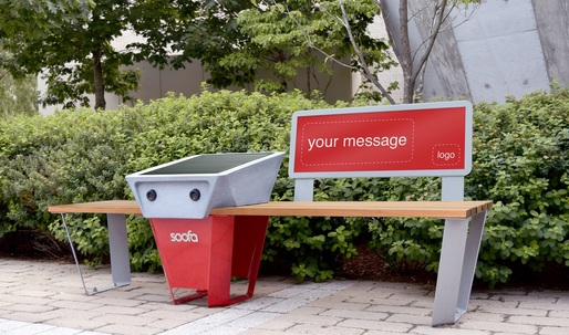 Data-collecting benches are making their way into cities