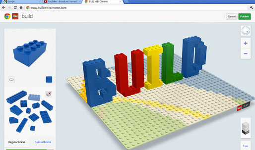 """Build with Chrome"" brings the LEGO-building pastime to the digital realm"