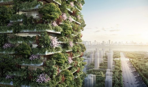 """Stefano Boeri to Build Asias First """"Vertical Forest"""""""