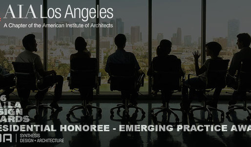 Synthesis wins 2016 AIA|LA Design Awards Presidential Honoree Emerging Practice Award