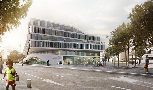 3XN to Design University Building in Stuttgart, Germany