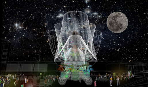 "YAP 2015 winner Andrés Jaque/Office to install ""Cosmo"" at MoMA PS1 this summer"