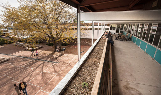 Check out the newly-restored Neutra-designed Oasis Building in the Petrified National Forest