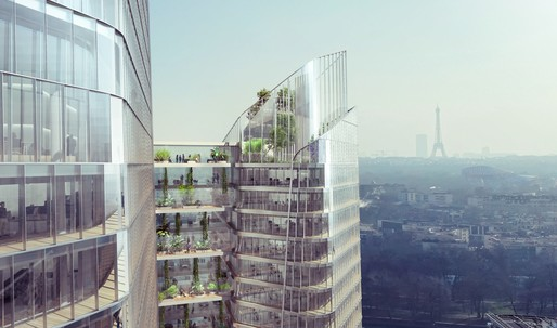 "Meet ""The Link"", a new office tower for Paris business district"