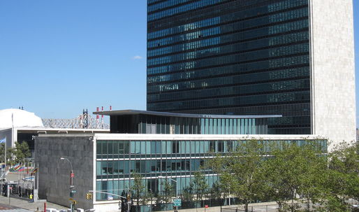 Massive renovation of U.N. Headquarters improves security but sacrifices Hammarskjöld Library