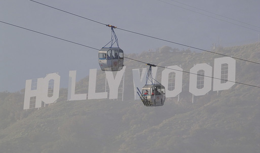 L.A. Mayor Garcetti proposes gondola lift to the Hollywood sign
