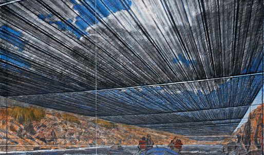 "Christo abandons $15 million U.S.-based river project as protest against ""landlord"" Trump"