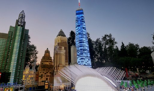 Tallest Lego model in the U.S. unveiled: One World Trade Center in all its pixely might