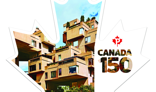 Canada Post unveils new stamp to commemorate the 50th anniversary of Habitat 67