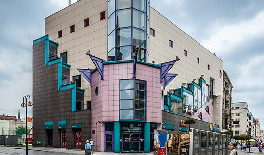How a postmodernist department store is trying to become the youngest monument in Poland
