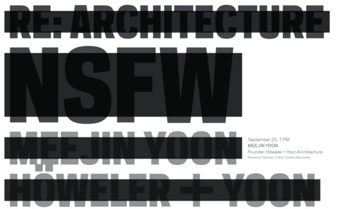 Get Lectured: Rice School of Architecture Fall 13