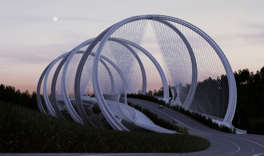 A look at penda's elegant San Shan Bridge