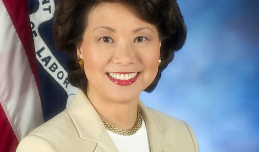 Trump nominates Elaine Chao for Secretary of Transportation