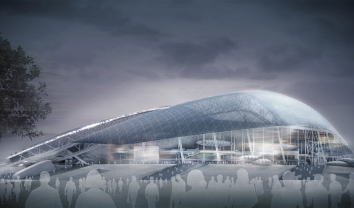 Populous' Fisht Olympic Stadium for Sochi Winter Games