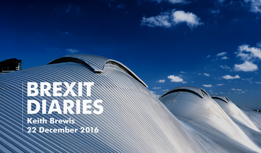 Brexit Diaries: Keith Brewis of Grimshaw, 22 December 2016