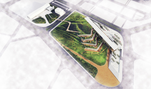 Ostim Eco-Park competition entry by ONZ Architects
