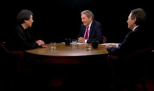 Charlie Rose interviews Tom Pritzker & Shigeru Ban