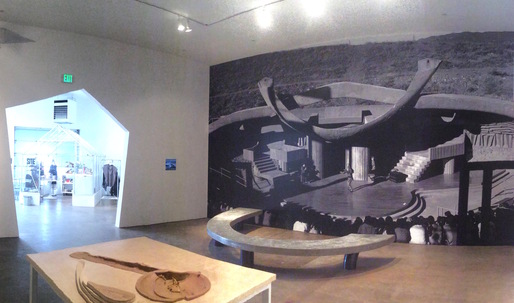 Paolo Soleri Amphitheater featured at SITE Santa Fe Biennial