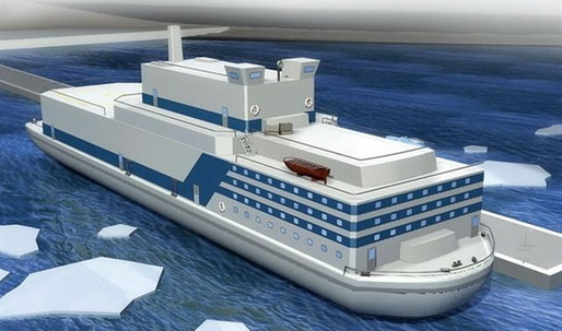 China plans to build a fleet of floating nuclear power plants
