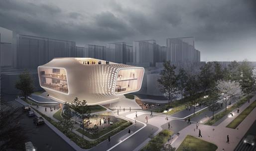 Daegu Gosan Public Library - Entries, Entries, Entries!